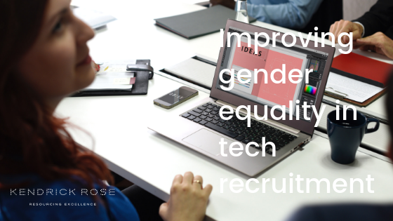 Improving Gender Equality In Tech Recruitment