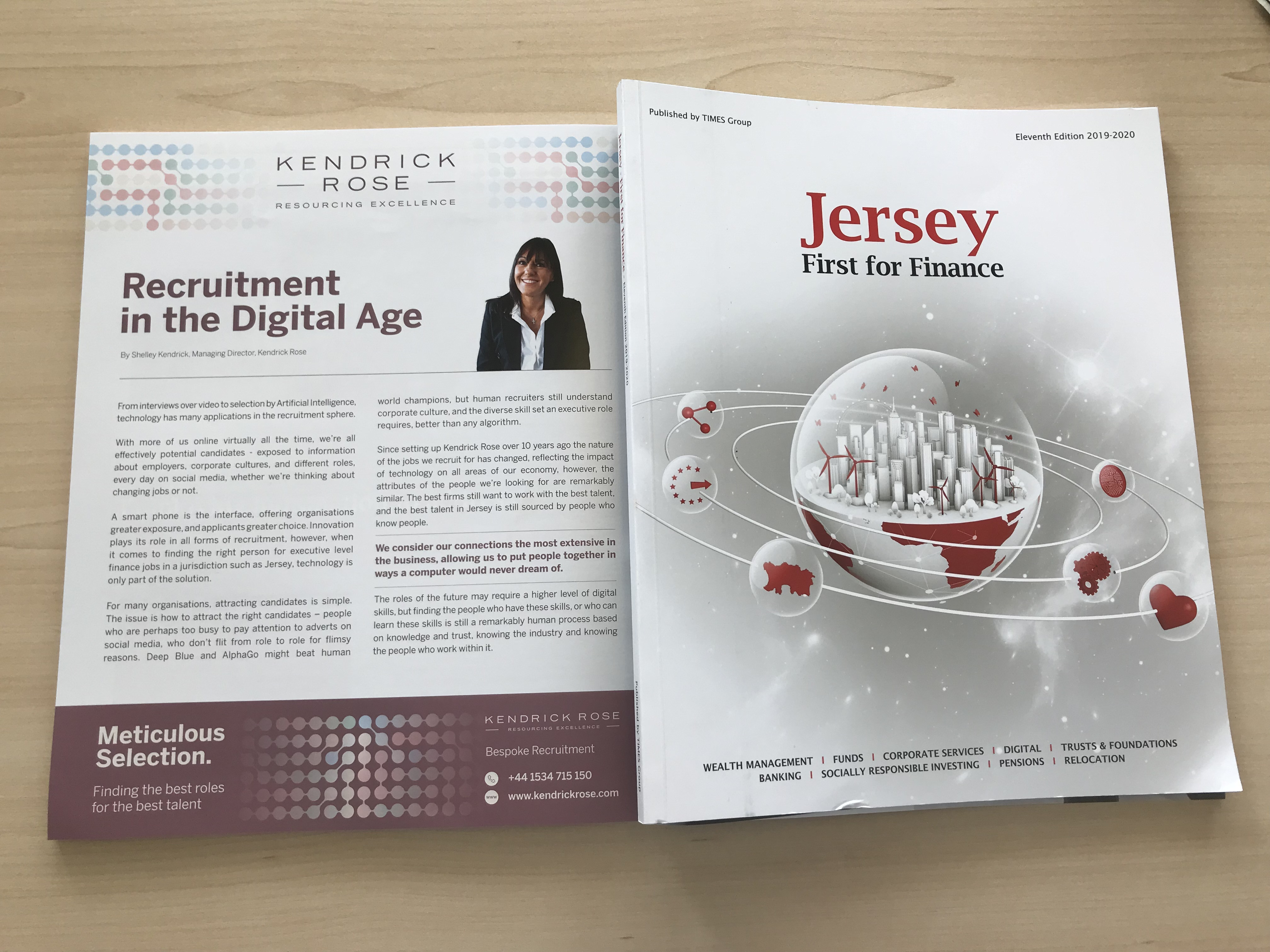 Jersey First For Finance 2019 Publication