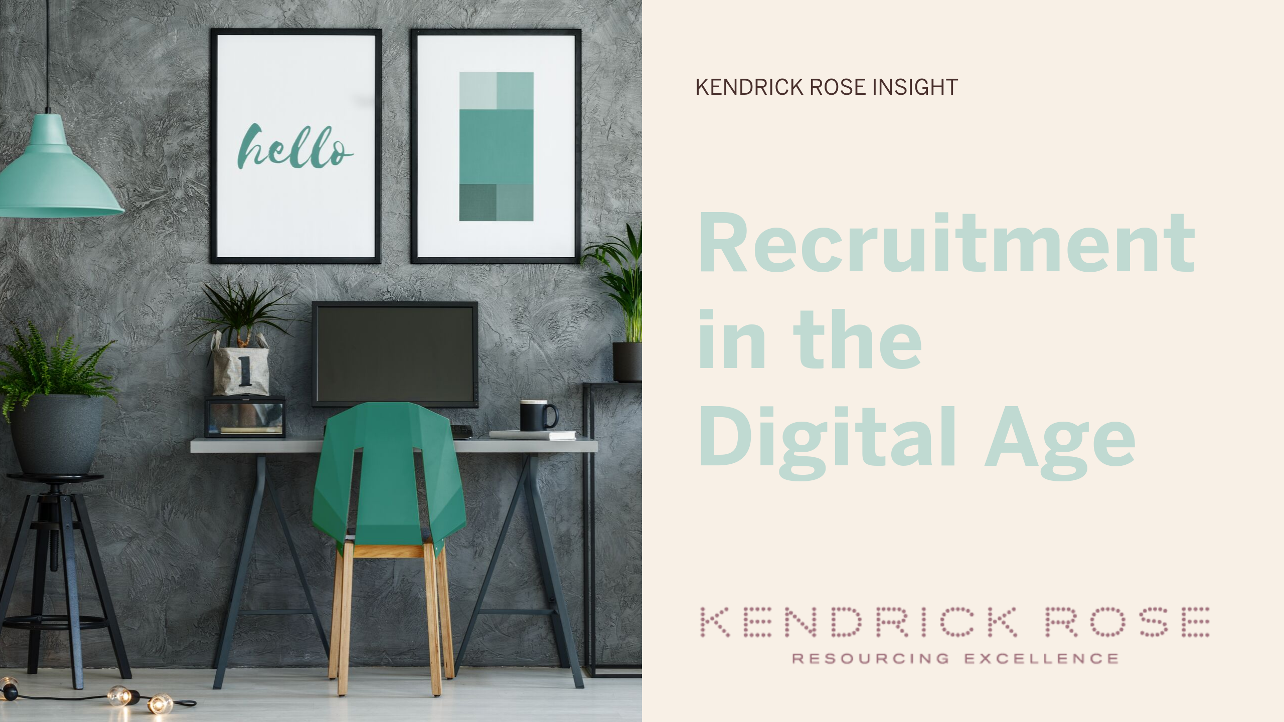 Recruitment In The Digital Age Blog Image