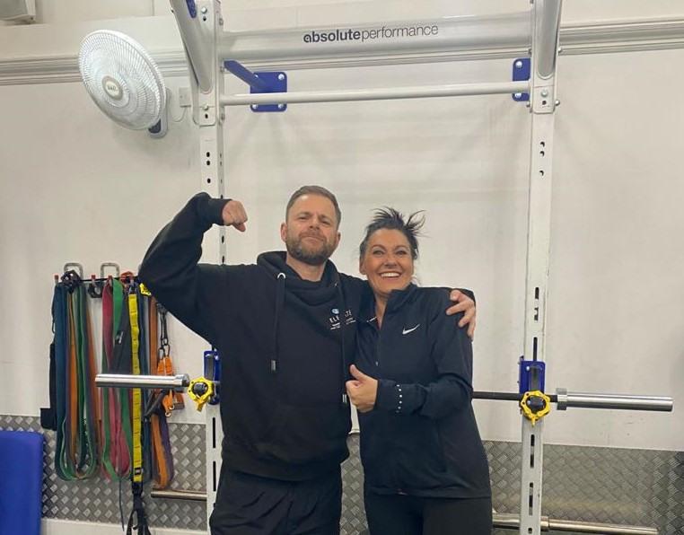 Shelley At Gym 1