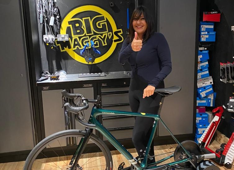 Shelley With Bike 1