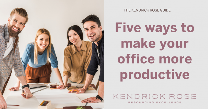 5 Ways To Make Your Office More Productive
