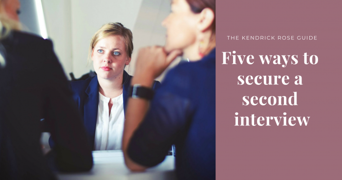Five Ways To Secure A Second Interview 2