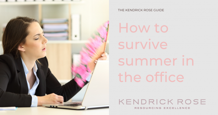 How To Survive Summer In The Office Blog