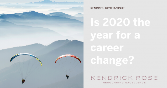 Is 2020 The Year For A Career Change