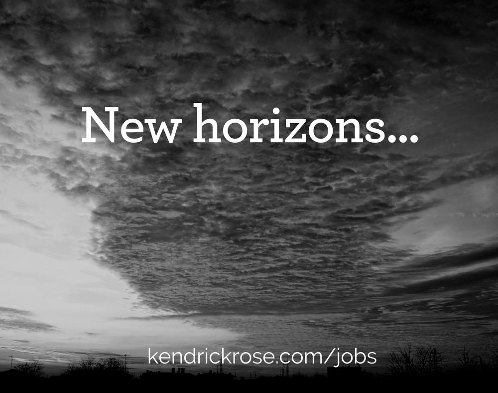 Blog Horizons